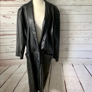 International Leather Collection Leather Coat